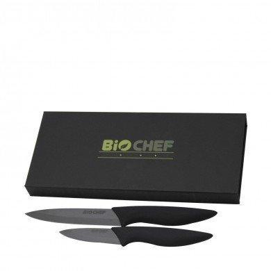 Set Cuchillos de Cerámica BioChef - Negro