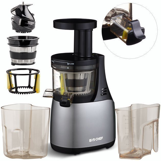 Biochef Synergy Slow Juicer Reviews : Extractor de zumos BioChef Synergy Slow Juicer