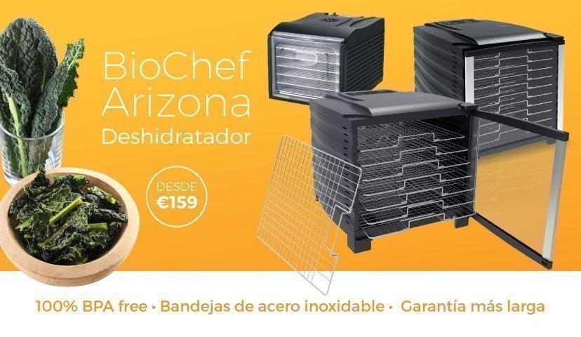 Deshidratadores de alimentos BioChef