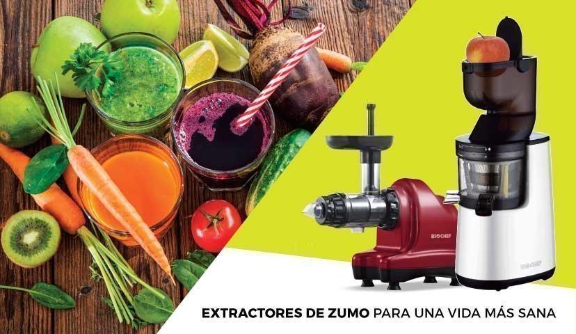 Extractor de zumos vida sana