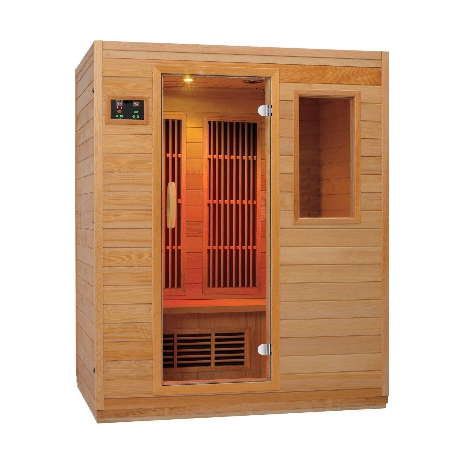 """Sauna de infrarrojos Zen """"Brighton"""" para 3 personas"""