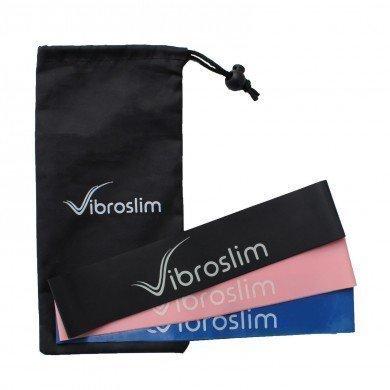 Bandas elásticas de resistencia VibroSlim - Juego de 3
