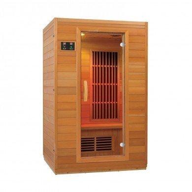 """Sauna de Infrarrojos Zen """"Brighton"""" para 2 personas"""