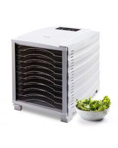 BioChef Arizona Deshidratador de alimentos con 10 bandejas color Blanco Kale